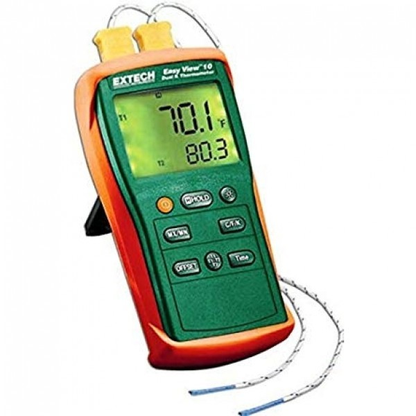 Extech EA10 EasyView™ Dual Input Thermometers