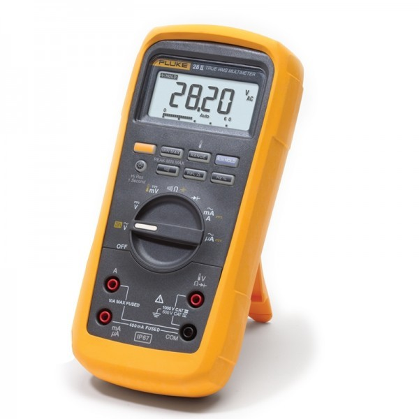 Fluke 27 II & 28 II Rugged IP 67 Industrial Multimeters