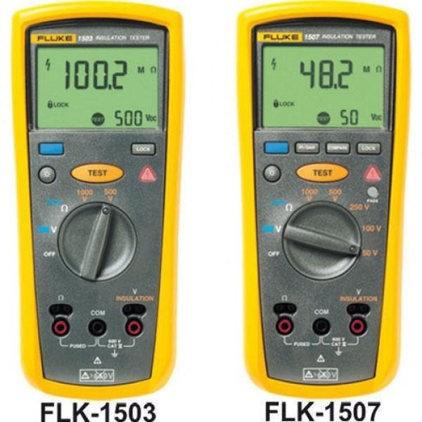 Fluke 1507, 1503 เครื่องทดสอบความเป็นฉนวน