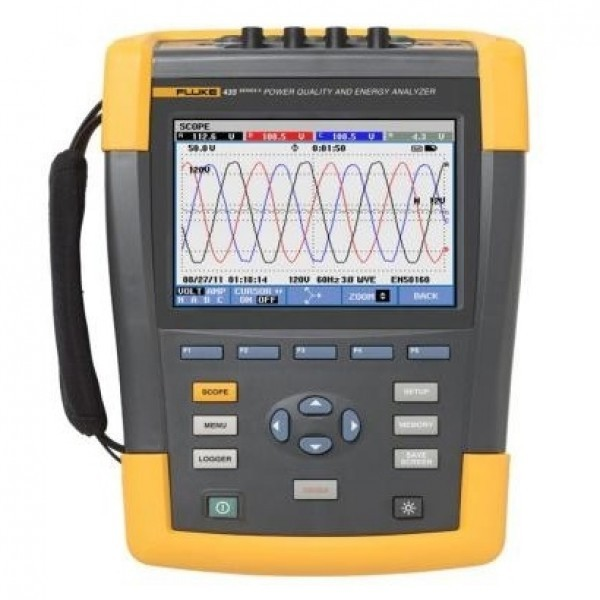 Fluke 434, 435 Series II Three-Phase Power Quality and Energy Analyzers
