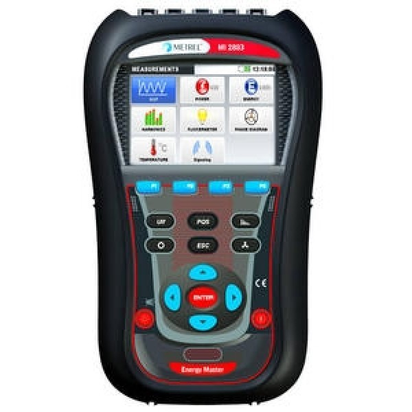Metrel MI 2883 Energy Master Class S Power Quality Analyser