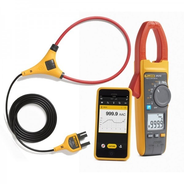 Fluke 370 FC Series True-rms Clamp Meter