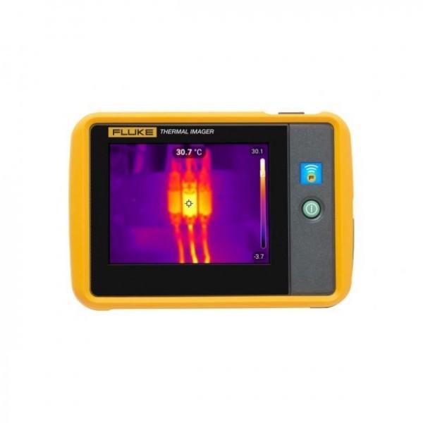 Fluke Pti120 กล้องถ่ายภาพความร้อนแบบพกพาสำหรับการตรวจสอบทางอุตสาหกรรม