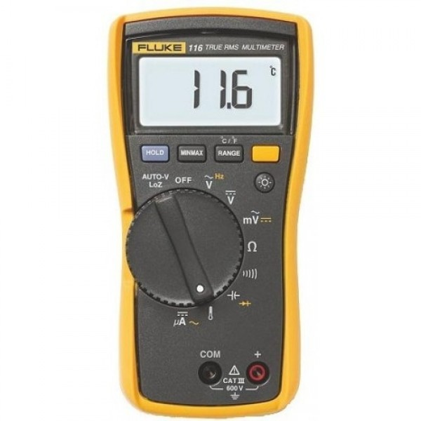 Fluke 116 HVAC Multimeter with Temperature
