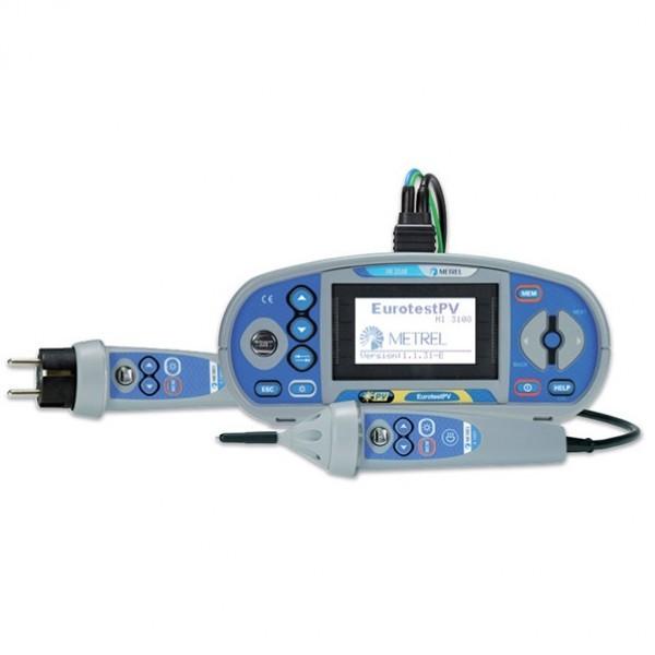 Metrel MI 3108 เครื่องทดสอบในงานติดตั้งระบบไฟฟ้าในอาคาร และระบบไฟฟ้าพลังงานแสงอาทิตย์