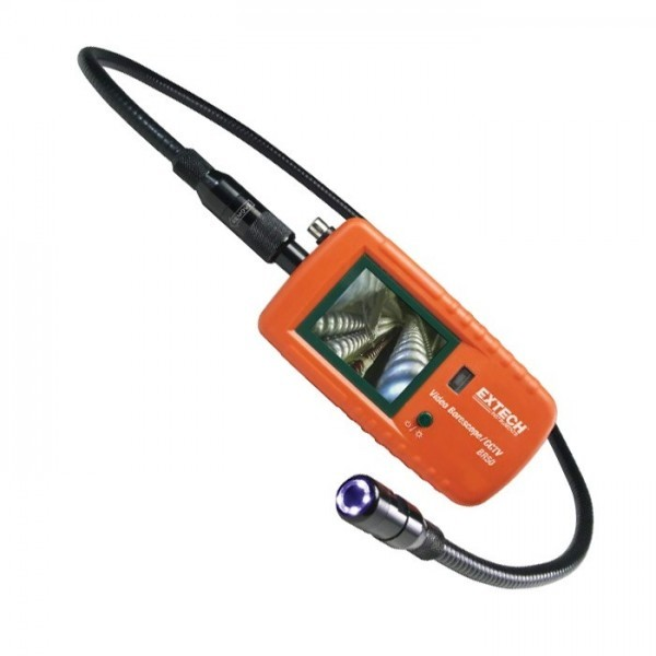Extech BR50:Video Borescope/Camera Tester