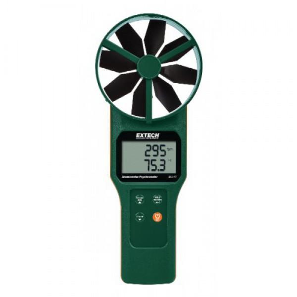 Extech AN310:Large Vane CFM/CMM Anemometer/Psychrometer