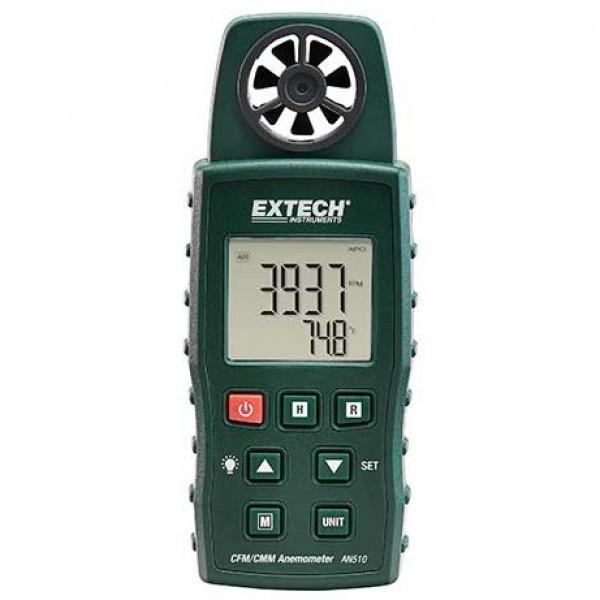 Extech AN510: CMM/CFM Anemometer + Type K