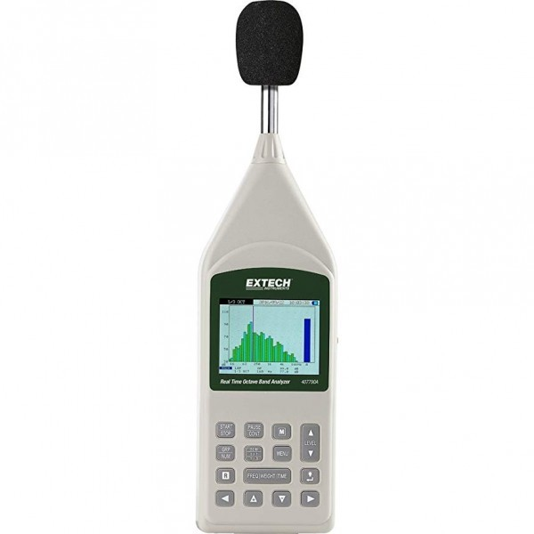 Extech 407790A Real Time Octave Band Analyzer