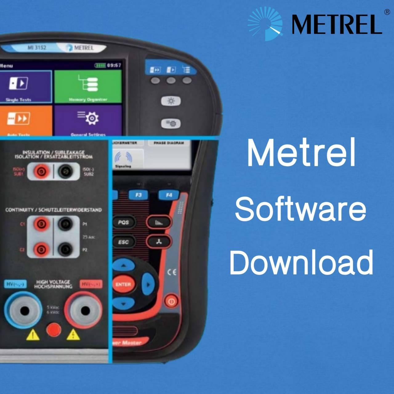 Metrel Software Download